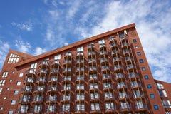 Narciarski hotel Fotografia Royalty Free