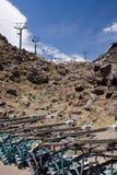 narciarski kurortu lato Obraz Stock