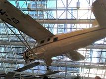 Narciarski samolot wśrodku biura Obraz Stock