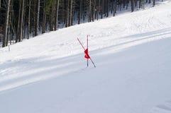 narciarski skłon zdjęcie stock