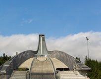 Narciarski skok w Oslo Obraz Stock