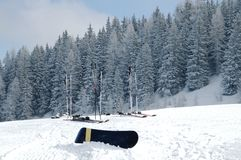 narciarski snowboard Zdjęcia Stock