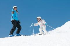 narciarstwo Obrazy Stock