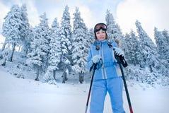 narciarstwo Zdjęcia Royalty Free