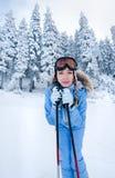 narciarstwo Zdjęcie Stock