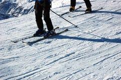 narciarze Fotografia Royalty Free