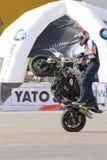 Narcis Roca wheelie Stock Image
