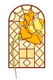 Narciss window Stock Image