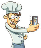 Narcissistic Chef Stock Images
