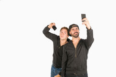 Narcissistic friends Royalty Free Stock Photography