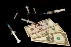 Narcotic Dependence Stock Photos