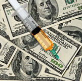 Narcotici e soldi Immagine Stock Libera da Diritti