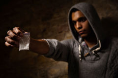 Narcotics and drugs concept Stock Image