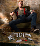 Narcotics and drugs concept Royalty Free Stock Photography