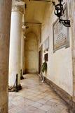 Nardò lecce italy. Ancient city palace antonio salandra square nardò italy royalty free stock image