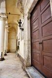Nardò lecce italy. Ancient city palace antonio salandra square nardò italy stock photography