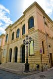 Nardò lecce italy. The municipal theater of nardo Lecce Italy stock images