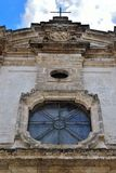 Nardò Salento Italy. Cathedral of Santa Maria assumed Romanesque Baroque style nardò italy stock image