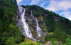 Nardis vattenfall Arkivbild