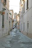 Nardo alleys. A alley in the old historical center of nardo in italy royalty free stock images