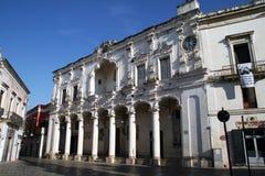 Nardo arkitektur royaltyfri bild