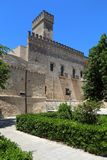 Nardo, Italy. Nardo in Apulia, Italy. Castle view - Castello Acquaviva stock photos