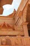 Nareli耆那教的寺庙视图,拉贾斯坦, ajmer 库存图片