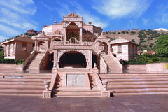 Nareli jain tempel, ajmer rajasthan, Indien Fotografering för Bildbyråer