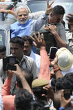 Narendra Μόδι στο Δελχί Στοκ φωτογραφία με δικαίωμα ελεύθερης χρήσης
