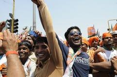 Narendra Modi à Varanasi Photos libres de droits