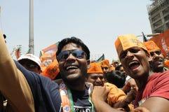 Narendra Modi à Varanasi Images stock