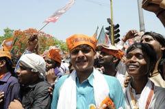 Narendra Modi à Varanasi Photos stock