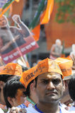 Narendra Modi Files his  Nomination. Royalty Free Stock Image