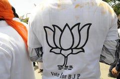 Narendra Modi Files sa nomination Image libre de droits