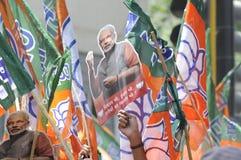 Narendra Modi Files zijn Benoeming Stock Afbeelding