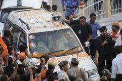 Narendra Modi in Varanasi. Stock Image