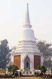 Naresuan Stupa, Chiangmai Tailandia Fotografia Stock Libera da Diritti