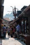 Nargile gigante del bazar Foto de archivo