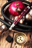 Nargile z granatowem obraz stock