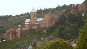 Narikala комплекс холопа различных эпох в старом Тбилиси акции видеоматериалы