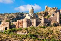 Narikala-Festung, Tiflis lizenzfreie stockbilder