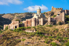 Narikala fortress, Tbilisi Royalty Free Stock Photos
