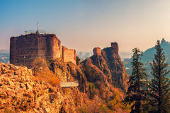 Narikala fortress Royalty Free Stock Photography