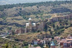 Narikala fortress in Tbilisi Stock Photo
