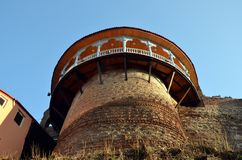 Narikala fortress in Tbilisi Stock Photography