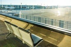 Narita är den internationella flygplatsen en internationell flygplats som tjänar som Tokyo område, Japan Arkivfoto