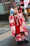 NARITA, ΙΑΠΩΝΙΑ - 15 ΝΟΕΜΒΡΊΟΥ: Shichi-πηγαίνω-SAN σε Narita, Ιαπωνία στο Ν Στοκ Εικόνες