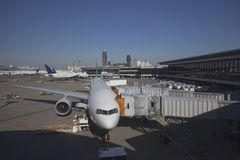 Narita Airport in Japan Stock Image