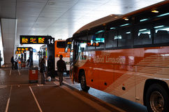 Narita Airport Limousines Royalty Free Stock Photo