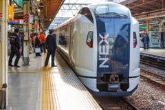Narita-Eilzug Lizenzfreie Stockfotos